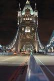 Tráfego da ponte da torre imagem de stock royalty free