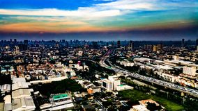 Tráfego de Banguecoque Fotos de Stock