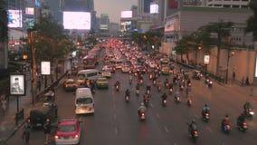 Tráfego de Banguecoque video estoque