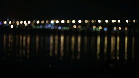 Tráfego de Bokehs video estoque