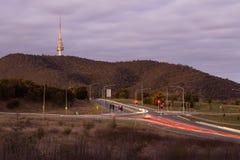 Tráfego de Canberra Foto de Stock Royalty Free
