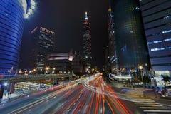 Tráfego de cidade de Taipei Fotografia de Stock Royalty Free