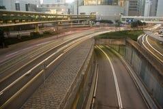 Tráfego de Hong Kong Imagens de Stock