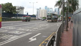 Tráfego de Hong Kong vídeos de arquivo