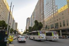 Tráfego de Rio de janeiro Imagens de Stock