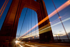Tráfego de San Francisco Imagem de Stock