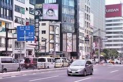 Tráfego do Tóquio Imagem de Stock