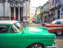 Tráfego em Havana Imagem de Stock Royalty Free