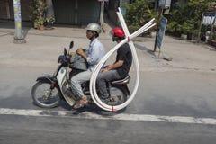 Tráfego em Ho Chi Minh City imagem de stock