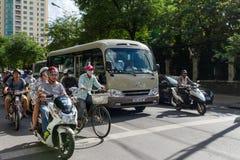 Tráfego em Ho Chi Minh City Imagens de Stock Royalty Free