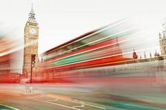 Tráfego em Londres Imagens de Stock