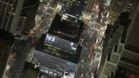 Tráfego em New York City vídeos de arquivo