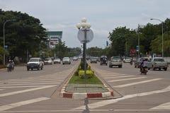 Tráfego na avenida de Xang da pista Fotografia de Stock