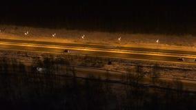 Tráfego na estrada na obscuridade filme