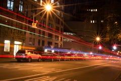 Tráfego na Quinta Avenida Fotografia de Stock