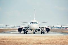 Tráfego no aeroporto Imagens de Stock