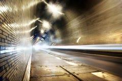 Tráfego no túnel Fotos de Stock Royalty Free