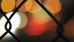 Tráfego urbano borrado - lapso de tempo do grampo 3 filme
