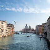 Tráfego Venetian Foto de Stock Royalty Free