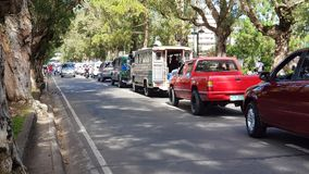 tráfico Foto de archivo libre de regalías