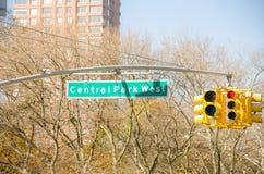 Tráfico cerca del New York City Manhattan Imagenes de archivo