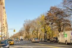 Tráfico cerca del New York City Manhattan Fotografía de archivo libre de regalías