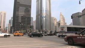 Tráfico Chicago almacen de video