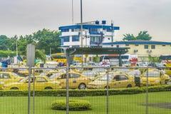 Tráfico congestionado, Guayaquil, Ecuador imágenes de archivo libres de regalías