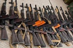 Tráfico de armas ilícito Foto de archivo libre de regalías