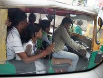 Tráfico de Bangalore imagen de archivo