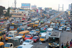 Tráfico de Bangalore foto de archivo libre de regalías