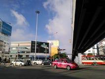 Tráfico de Bangkok Imagenes de archivo