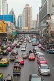 Tráfico de Bangkok Fotos de archivo libres de regalías