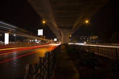 Tráfico de ciudad de Bangalore fotos de archivo libres de regalías