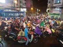 Tráfico de Ho Chi Minh City imágenes de archivo libres de regalías