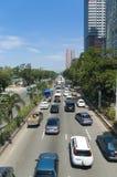 Tráfico de la calle Imagen de archivo libre de regalías