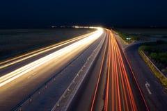 Tráfico de la carretera Imágenes de archivo libres de regalías
