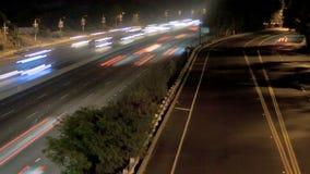 Tráfico de la carretera almacen de metraje de vídeo