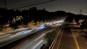 Tráfico de la carretera metrajes