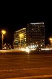 Tráfico de la noche Imagen de archivo