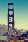 Tráfico de la tarde en San Francisco Imágenes de archivo libres de regalías