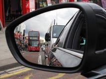 Tráfico de Londres Fotografía de archivo libre de regalías