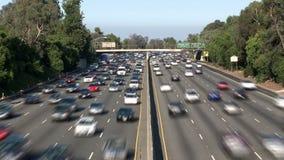 Tráfico de Los Ángeles almacen de metraje de vídeo