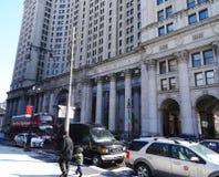 Tráfico de Nueva York Imagen de archivo libre de regalías