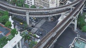 Tráfico de Timelapse Bangkok almacen de video