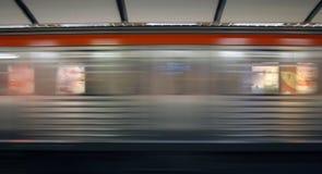 Tráfico del subterráneo Imagen de archivo