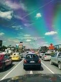 Tráfico em Banguecoque Foto de Stock