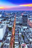 Tráfico en Bangkok Imagen de archivo