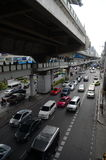 Tráfico en Bangkok Fotos de archivo