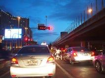 Tráfico en Bangkok, Tailandia Foto de archivo
